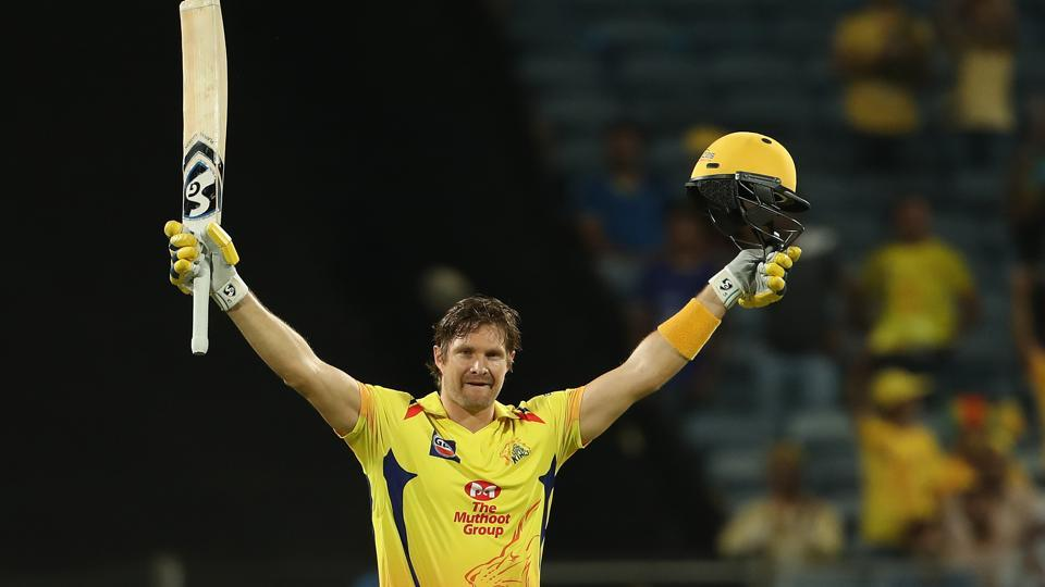 Watson brought up his first century for CSK as the hosts posted 204/5.  (BCCI )