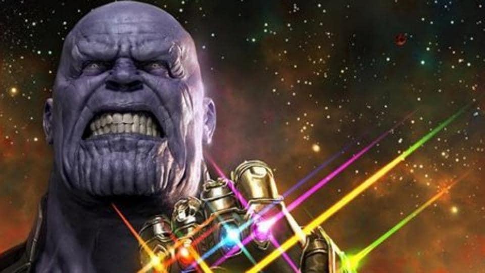 Josh Brolin plays Thanos in Avengers: Infinity War.