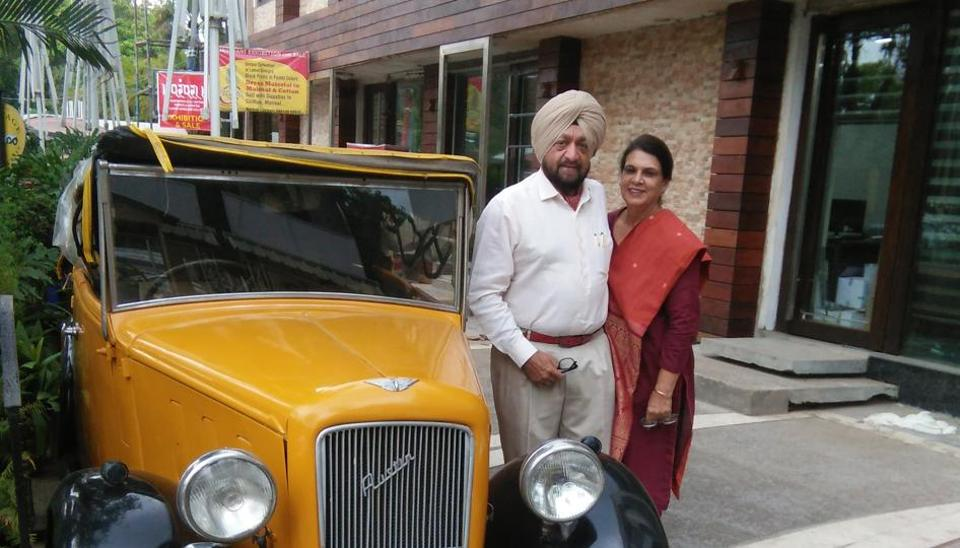 This hotelier owns the car once driven by the man who wrote Vande Matram.