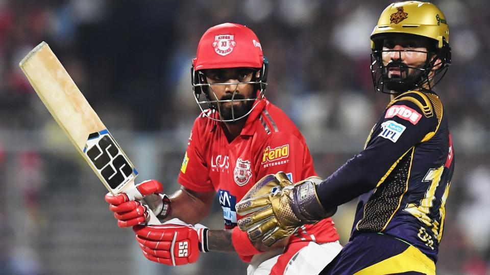 KL Rahul guided Kings XI Punjab to victory over Kolkata Knight Riders in their IPL 2018 match on Saturday. (AFP)
