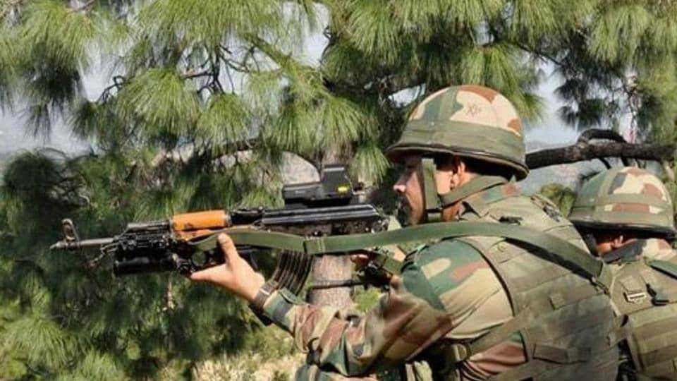 Image result for Indian, Pakistani troops trade heavy fire on LoC