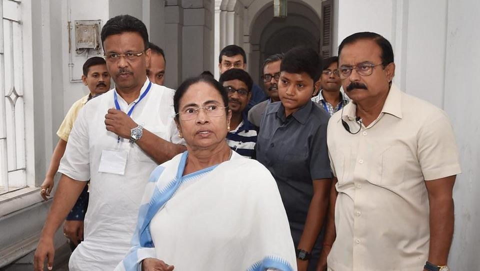 The opposition BJP CPI-M Congress and PDS had moved the court accusing the Trinamool of unleashing massive pre-poll violence against their party workers to prevent them from filing nominations for the polls ever since the process began on April 2