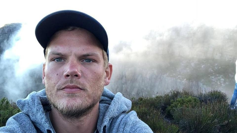 Swedish musician, DJ, remixer and record producer Avicii (Tim Bergling) takes a selfie on Table Mountain, South Africa in this picture obtained from social media.
