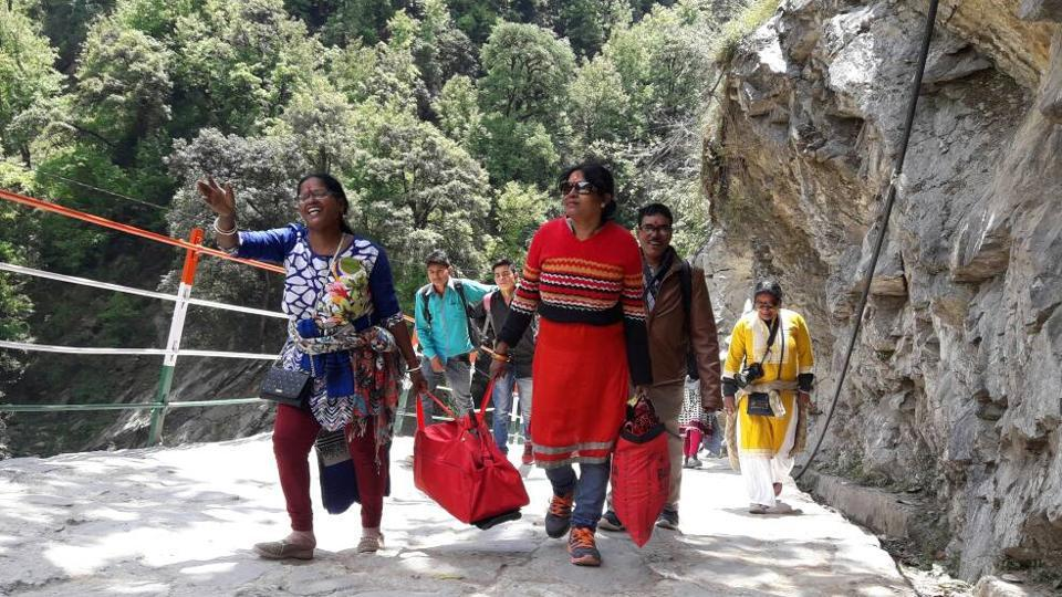 The annual pilgrimage to the Chardham comprising the four Himalayan shrines of Badrinath, Kedarnath, Gangotri and Yamnotri in Uttarakhand began on April 18.