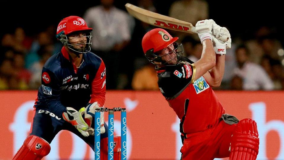 AB de Villiers finished on 90* as RCB won by six wickets. (BCCI)