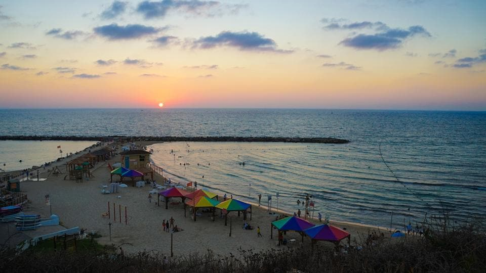 Hilton Beach is one of the best beaches in Tel Aviv.