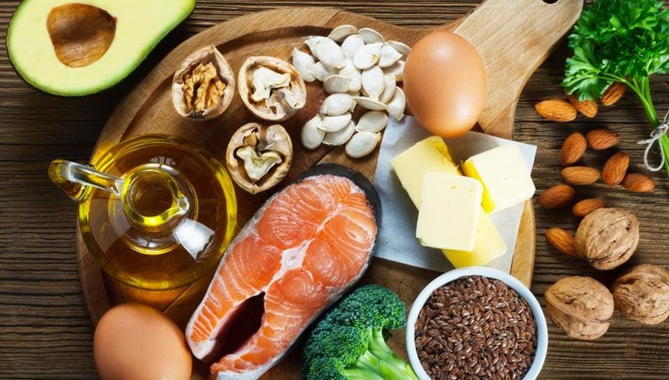 Foods like fish, olive oil and flaxseeds are rich in omega-3.