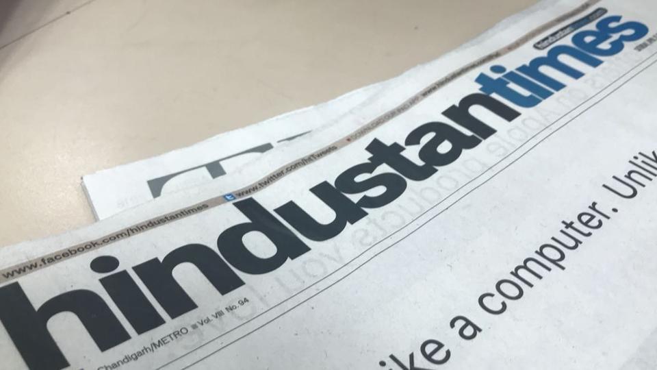 Newspaper,Hindustan Times,HT