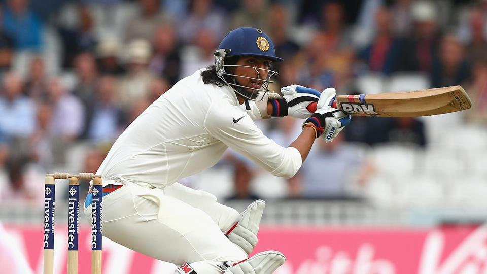 Ishant Sharma hit 66 in the first ever half-century of his first class cricket career.