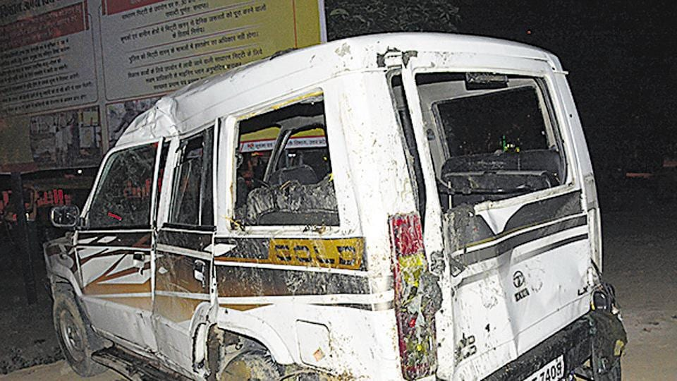 Ghaziabad,Ghaziabad SUV accident,Death toll