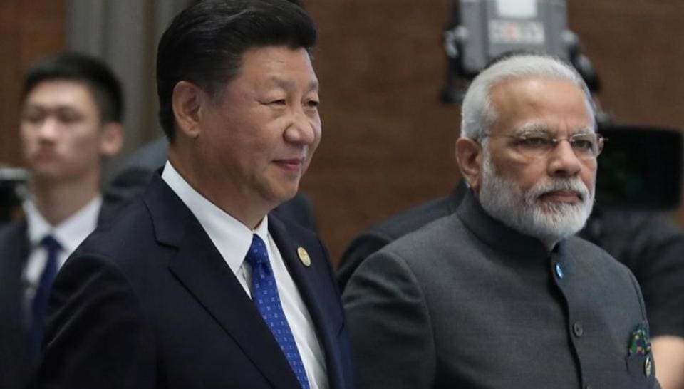 Modi in China,Modi Xi meeting,India China