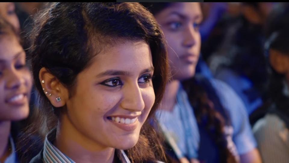 Priya Prakash Varrier,Roshan Abdul Rahoof,Wink girl