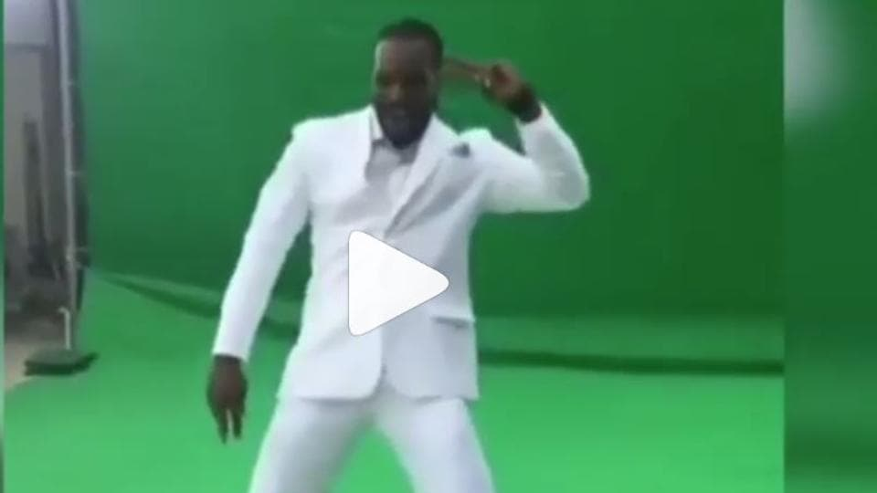Chris Gayle dancing to Sapna Choudhary's track is the better sight today