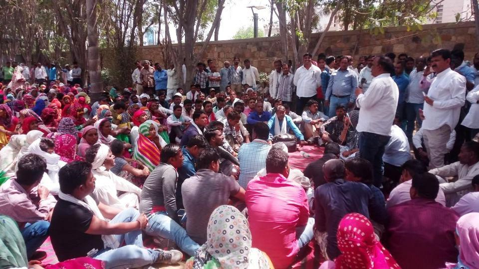 MCG commissioner Yashpal Yadav had to call an impromptu meeting in the wake of the protest on Monday morning.