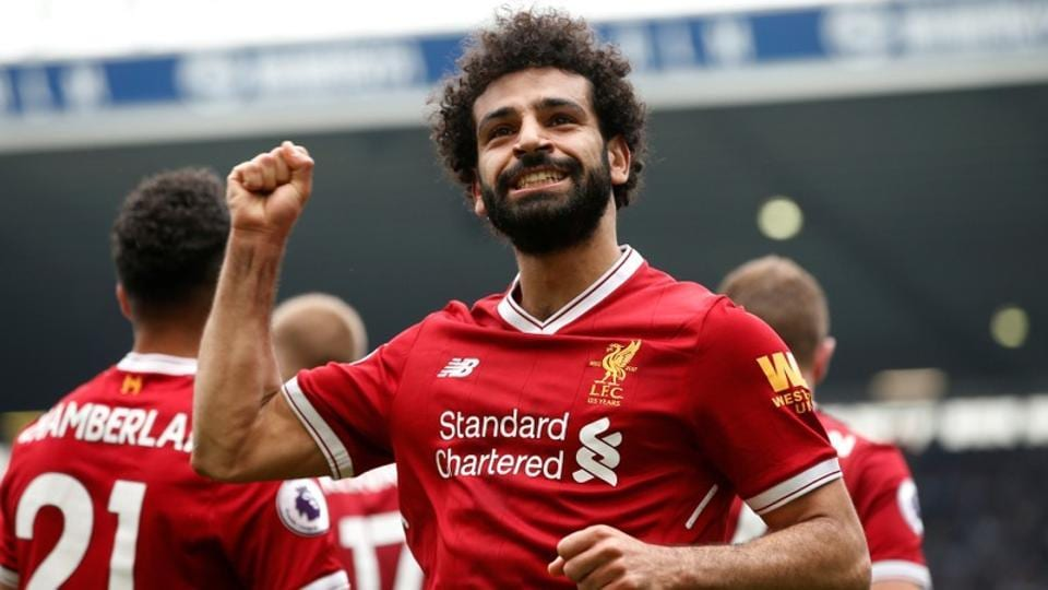 Mohamed Salah of Liverpool pipped Manchester City's Kevin de Bruyne to win the PFA Player of the Year award.