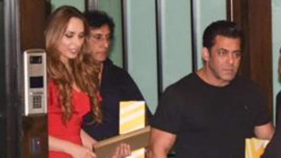 Salman Khan,Iulia Vantur,Salman Iulia