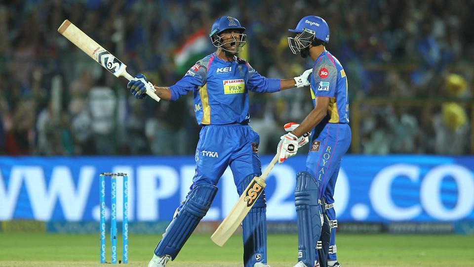 IPL 2018,Rajasthan Royals,Sanju Samson