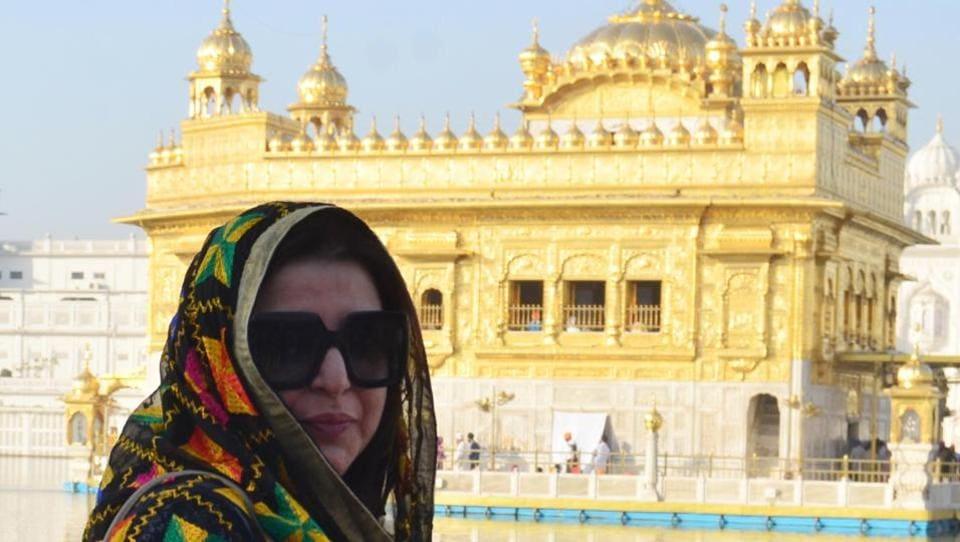 Farah Khan,Amritsar,Golden Temple