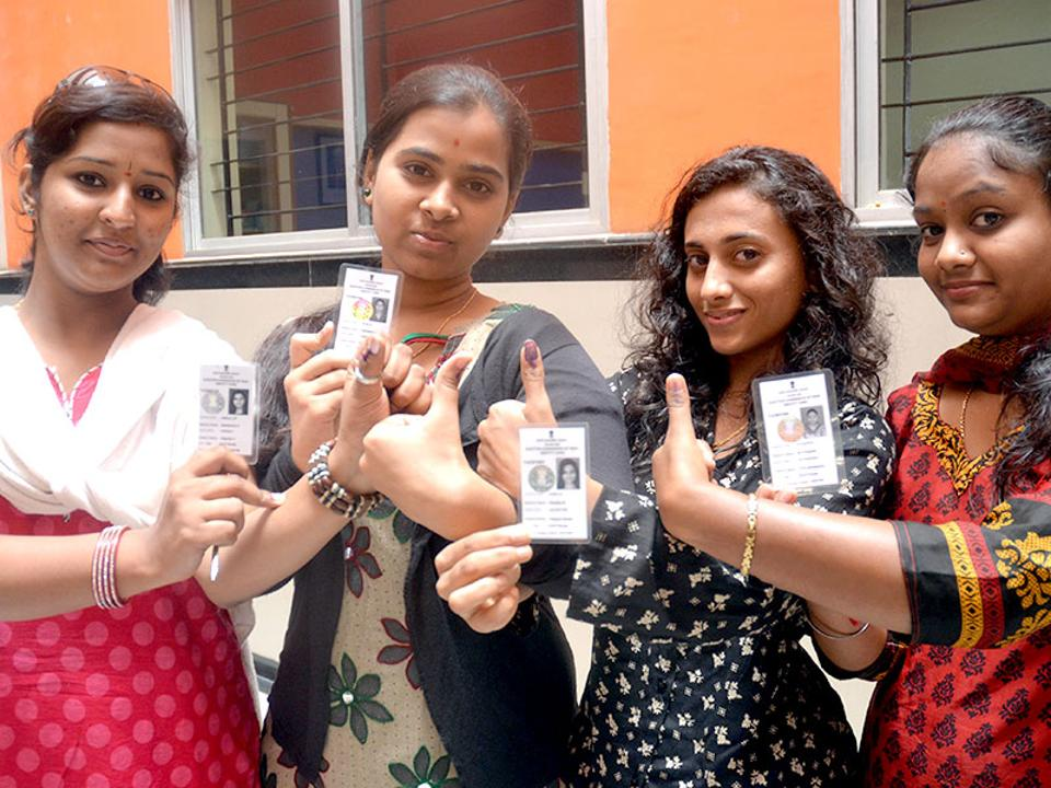 In the 2013 assembly polls, turnout in Bengaluru was 57.6%. In the 2014 Lok Sabha polls, 56% voters turned up at polling booths.
