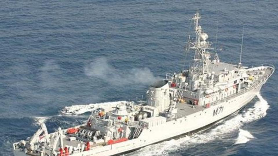 This is India's third attempt in a decade to strengthen its navy's mine warfare capabilities. Navies deploy minesweepers to secure harbours by locating and destroying mines.