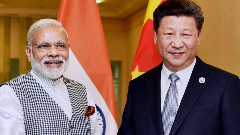 Prime Minister Narendra Modi with Chinese President Xi Jinping during a meeting in Tashkent on Thursday on the sidelines of SCO Summit.