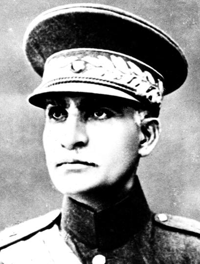 FILE- This is an undated file photo of Reza Shah Pahlavi in an unidentified place.