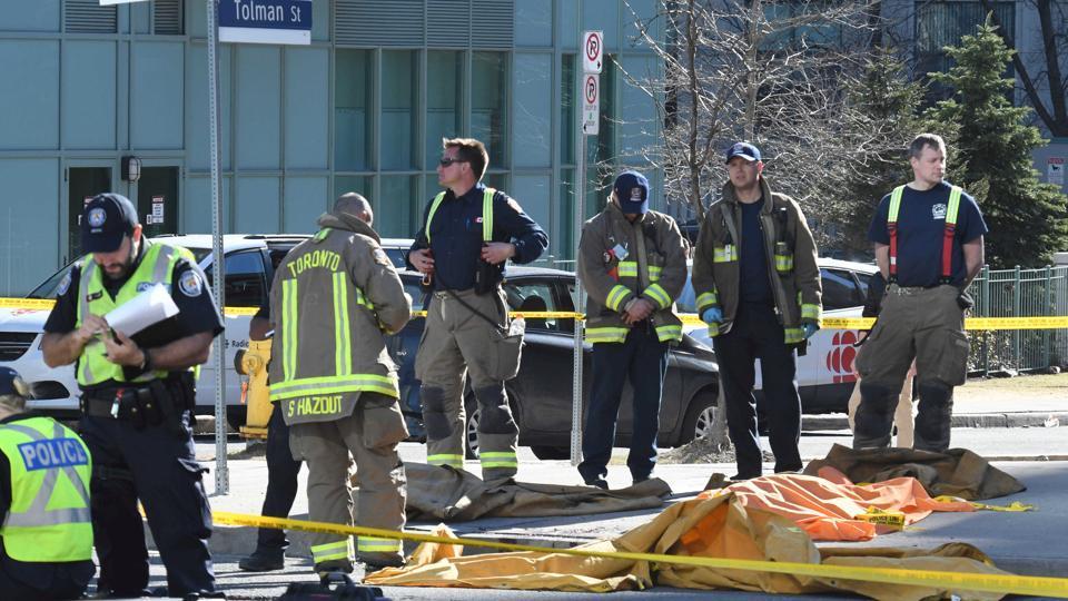 Toronto Van Attack,Yonge Street,Canada