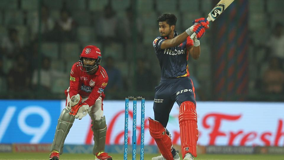 Shreyas Iyer of the Delhi Daredevils got out in the final  ball of their chase against Kings XI Punjab in their 2018 Indian Premier League (IPL 2018) match. (bcci)