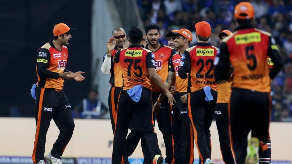 Live cricket score,IPL 2018,Mumbai Indians vs Sunrisers Hyderabad