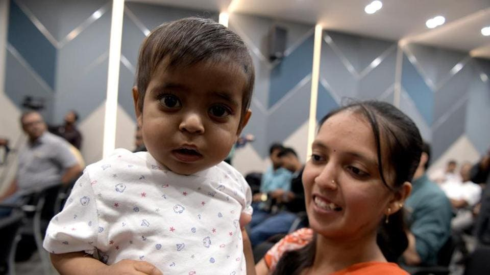 One-year-old Ram Mistry underwent a liver transplant earlier this month after the procedure was made possible by money raised on two crowdfunding platforms.