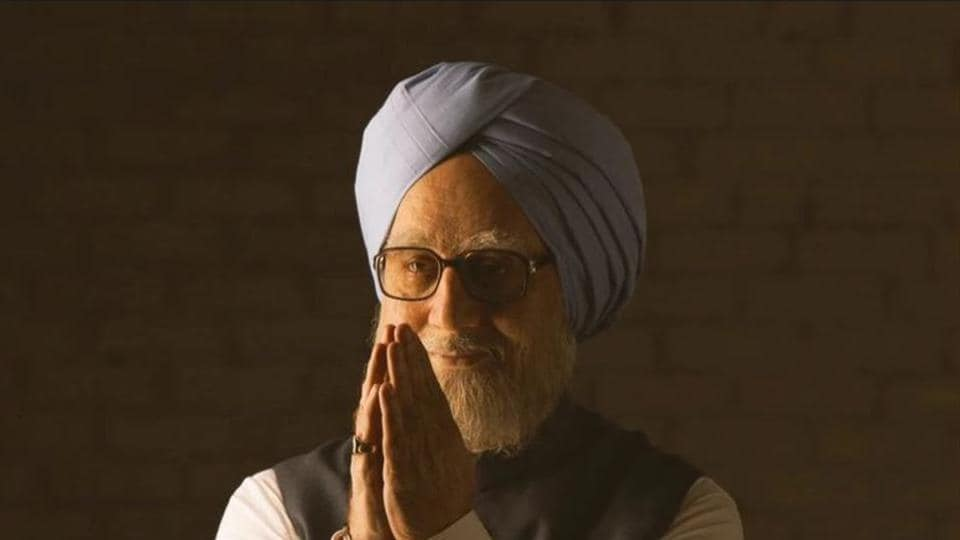 Manmohan Singh,Anupam Kher,The Accidental Prime Minister