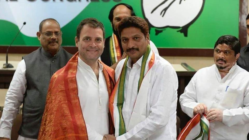 Maoist ideologue,GV Surya Kiran,Congress