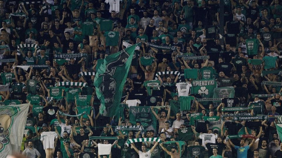 Panathinaikos,Panathinaikos ban,UEFA