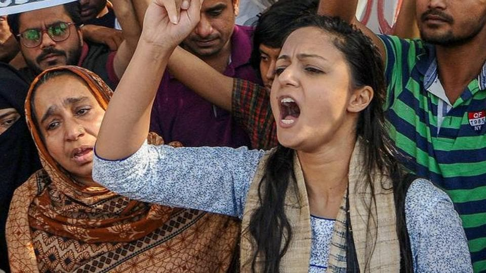 While Shehla Rashid (pictured) is a former vice-president of JNU Students' Union, Kanhaiya Kumar was the president of the varsity's students' body.