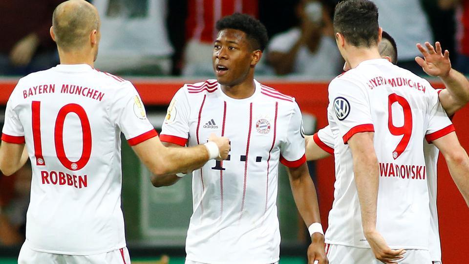 David Alaba,Bayern Munich,Champions League