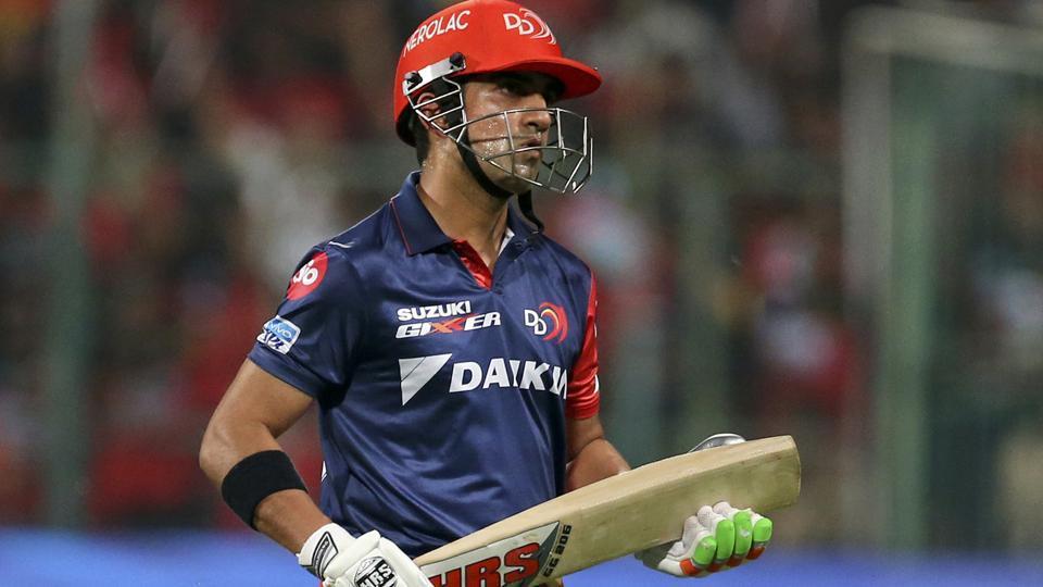 Gautam Gambhir,IPL 2018,Delhi Daredevils