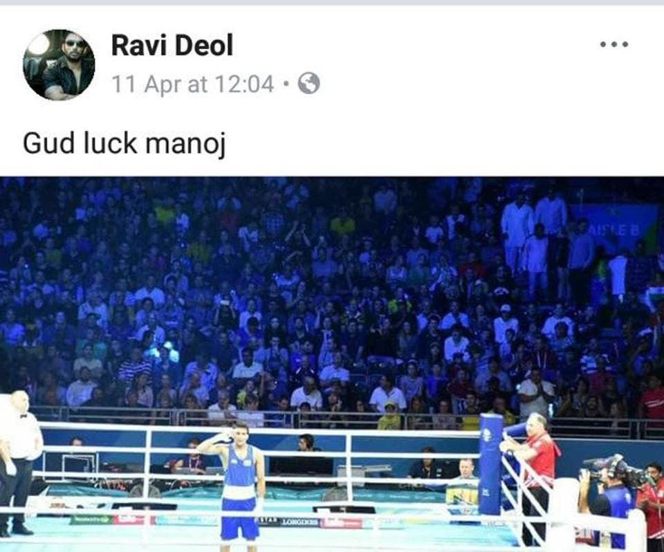 Gangster Ravi Deol,Facebook,Facebook page