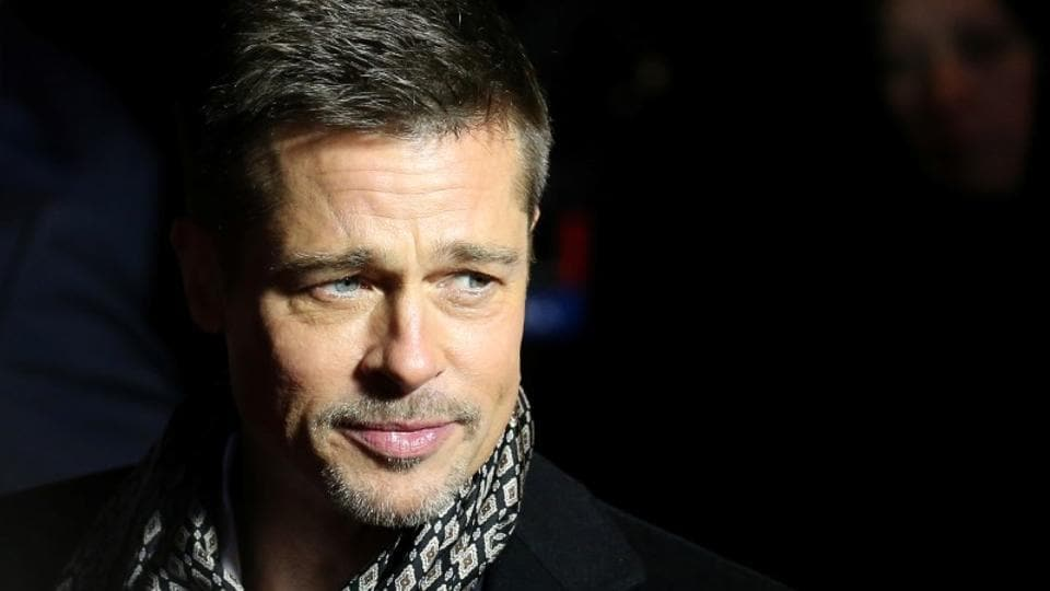 Actor Brad Pitt arrives at the premiere of the film Allied in Madrid, November 22, 2016.