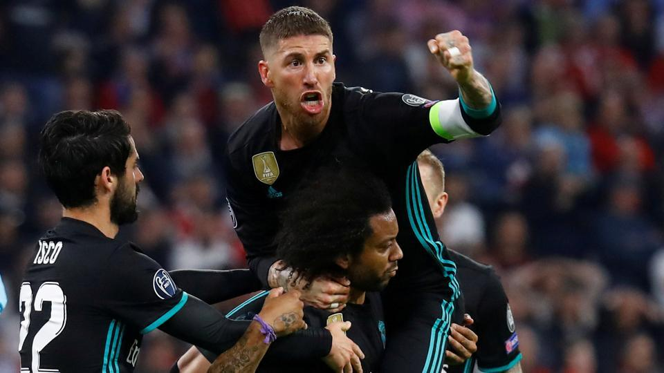 Real Madrid came back from a goal down to beat Bayern Munich 2-1 in the away leg of their Champions League semi-final on Wednesday.