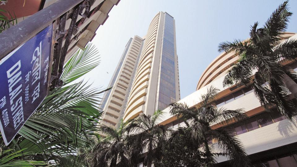The BSE Sensex had closed at 34,501.27 points on Wednesday.
