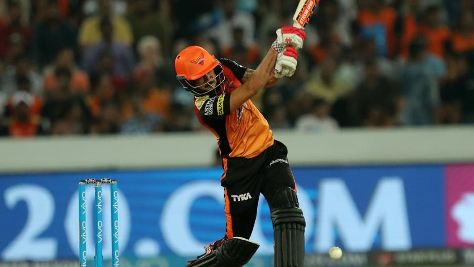Manish Pandey hit his second fifty of the 2018 Indian Premier League but Sunrisers Hyderabad managed just 132/6 against Kings XIPunjab.