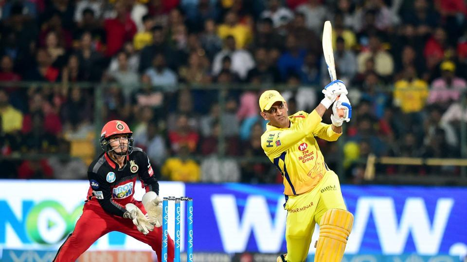 MS Dhoni blasted 70* off 34 balls to power Chennai Super Kings to a thrilling five-wicket win over Royal Challengers Bangalore.