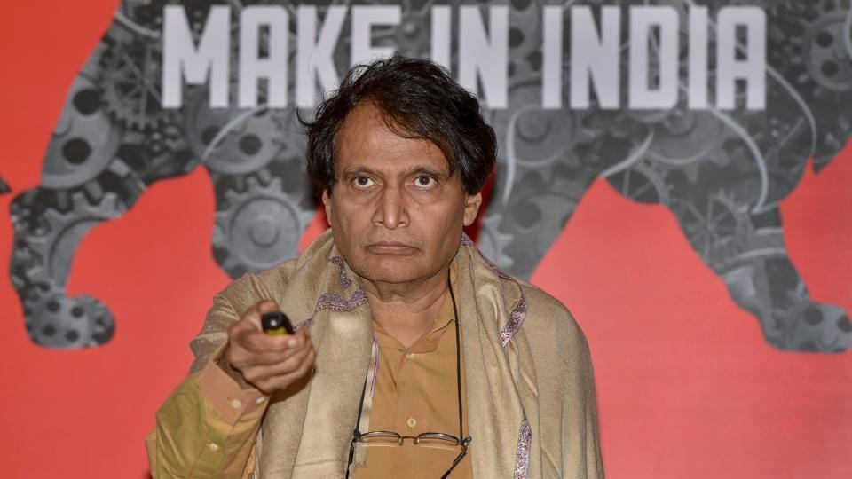 Union commerce minister Suresh Prabhu (pictured) underlined how Swachh Bharat has huge potential to push economic growth.