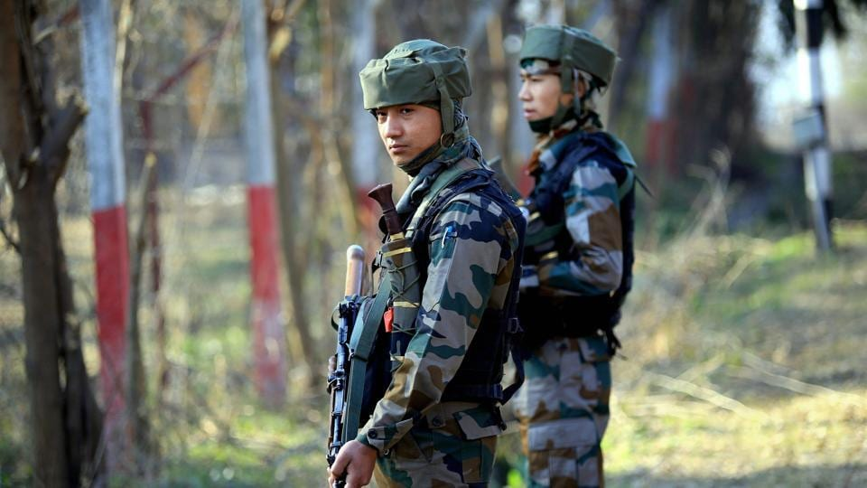 An Indian army officer said troops retaliated to Pakistani firing effectively and strongly due to which firing stopped two-and-a-half hours later.