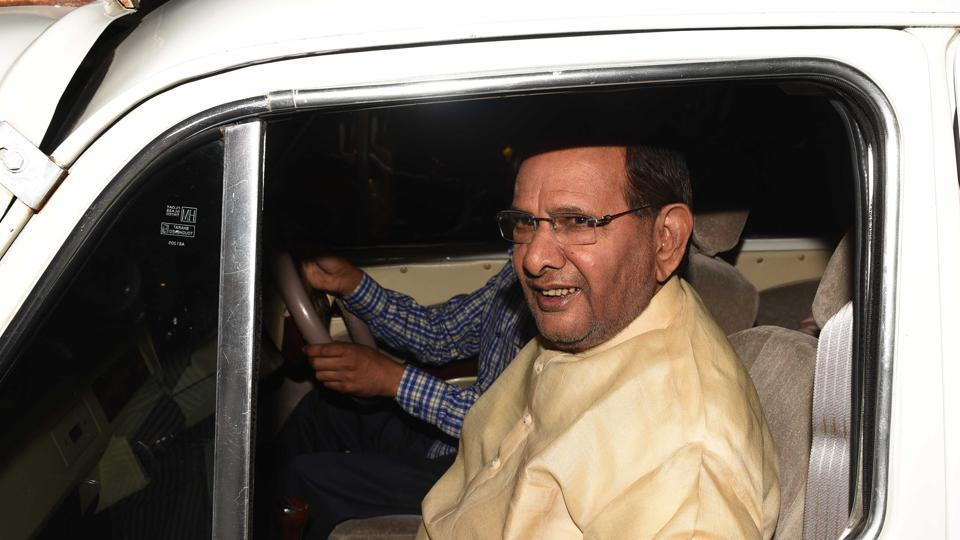 Sharad Yadav was present at the venue where the announcement for the new party was made by LJD national secretary Sushila Morale, in New Delhi.