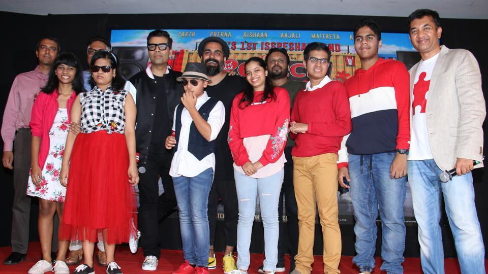 Karan Johar,Hrithik Roshan,Anushka Sharma