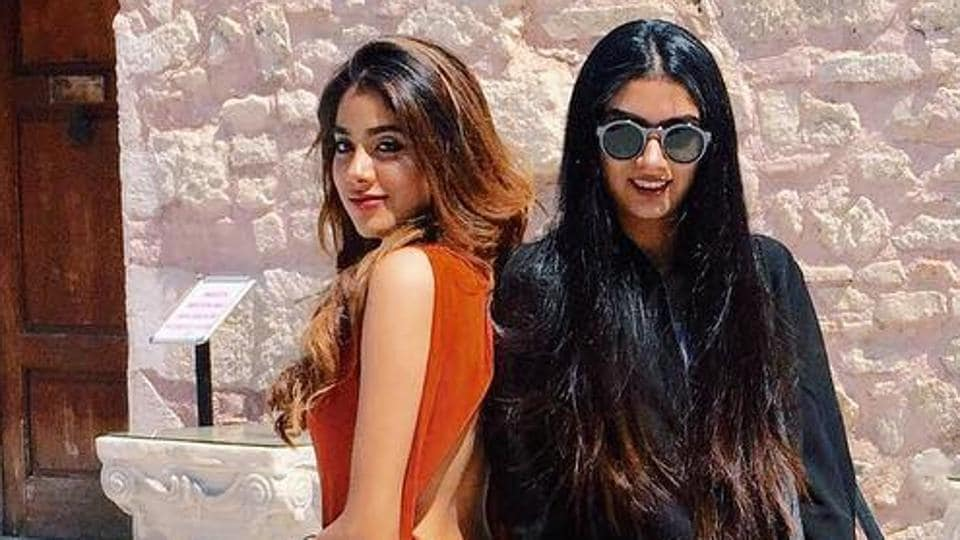 Sridevi's daughters Janhvi and Khushi Kapoor share a great relationship as sisters.