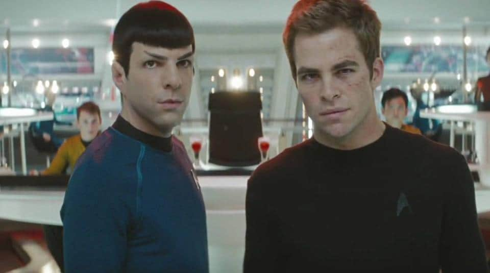 Chris Pine and Zachary Quinto have been given hefty raises for the new Star Trek film, according to reports.