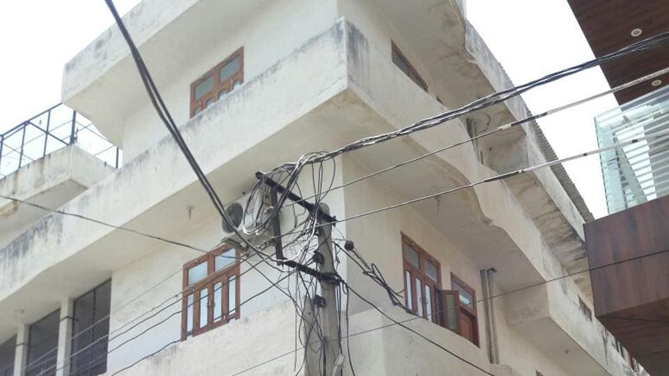 A view of Apna Ghar in Rohtak.