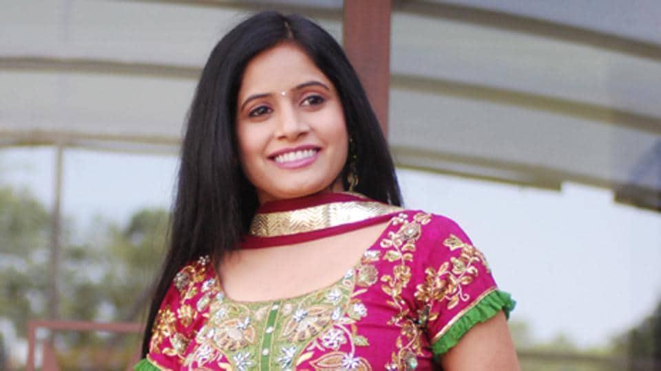 Punjabi singer Miss Pooja.